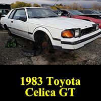 Junkyard 1983 Toyota Celica GT