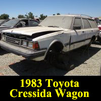 Junkyard 1983 Toyota Cressida wagon
