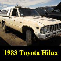 Junkyard 1983 Toyota Truck