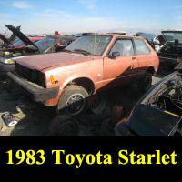 Junkyard 1983 Toyota Starlet