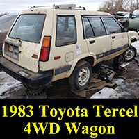 1983 Toyota Tercel 4WD Wagon