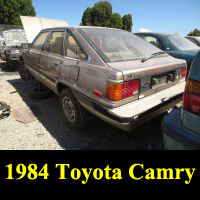 Junkyard 1984 Toyota Camry