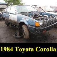 Junkyard 1984 Toyota Corolla