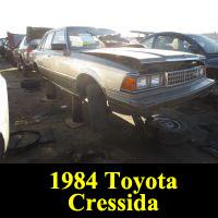 Junkyard 1984 Toyota Cressida