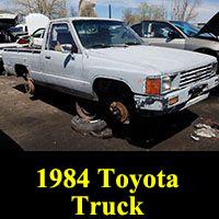 Junkyard 1984 Toyota Hilux