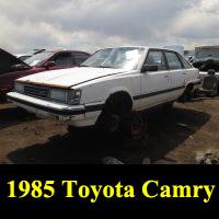 Junkyard 1985 Toyota Camry