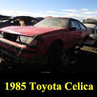 Junkyard 1985 Toyota Celica
