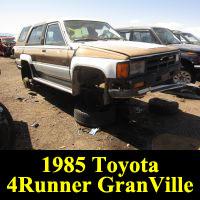 Junkyard 1985 Toyota 4Runner