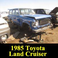 Junkyard 1985 Toyota Land Cruiser