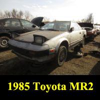 Junkyard 1985 Toyota MR2