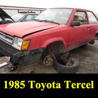 Junkyard 1985 Toyota Tercel
