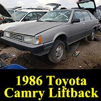 Junkyard 1986 Toyota Camry