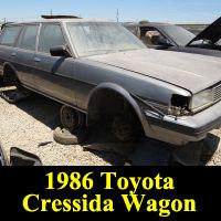 Junkyard 1986 Toyota Cressida Wagon