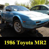 Junkyard 1986 Toyota MR2