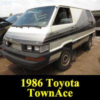 Junkyard 1986 Toyota Van Conversion