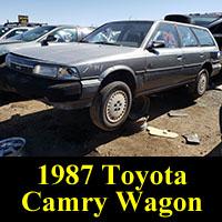 Junkyard 1987 Toyota Camry