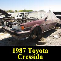 Junkyard 1987 Toyota Cressida