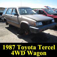 Junkyard 1987 Toyota Tercel 4WD Wagon