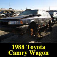 Junkyard 1988 Toyota Camry Wagon
