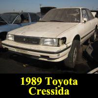 Junkyard 1989 Toyota Cressida