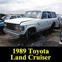 Junkyard 1989 Toyota Land Cruiser