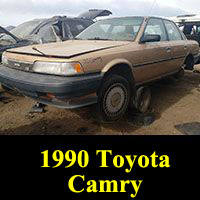 Junkyard 1990 Toyota Camry