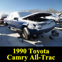Junkyard 1990 Toyota Camry Alltrac