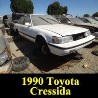 Junkyard 1990 Toyota Cressida