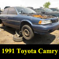 Junkyard 1991 Toyota Camry