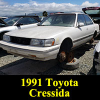 Junkyard 1991 Toyota Cressida