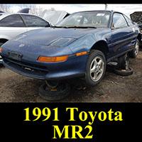 Junkyard 1991 Toyota MR2