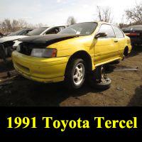 Junkyard 1991 Toyota Tercel