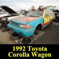 Junkyard 1992 Toyota Corolla