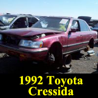 Junkyard 1992 Toyota Cressida