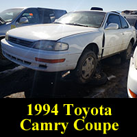 Junkyard 1994 Toyota Camry Coupe