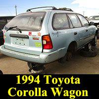 Junkyard 1994 Toyota Corolla wagon