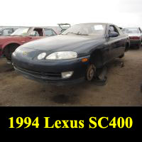 Junkyard 1994 Lexus SC400