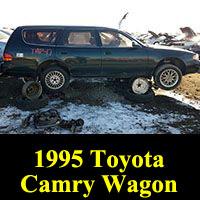 Junkyard 1996 Toyota Camry wagon
