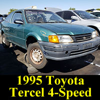 Junkyard 1995 Toyota Tercel