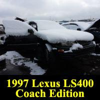 Junkyard 1997 Lexus LS 400