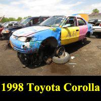 Junkyard 1998 Toyota Corolla