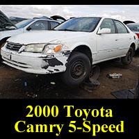 Junkyard 2000 Toyota Camry