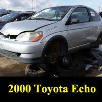 Junkyard 2000 Toyota Echo
