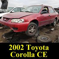 Junkyard 2002 Toyota Corolla