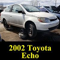 Junkyard 2002 Toyota Echo