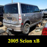 Junkyard 2005 Scion xB