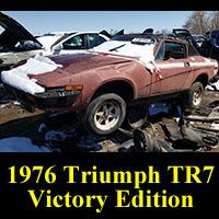 Junkyard 1976 Triumph TR7 Victory Edition