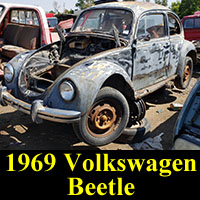 Junkyard 1969 VW Bug