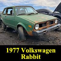 Junkyard 1977 Volkswagen Rabbit