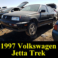 Junkyard 1997 VW Jetta Trek Edition